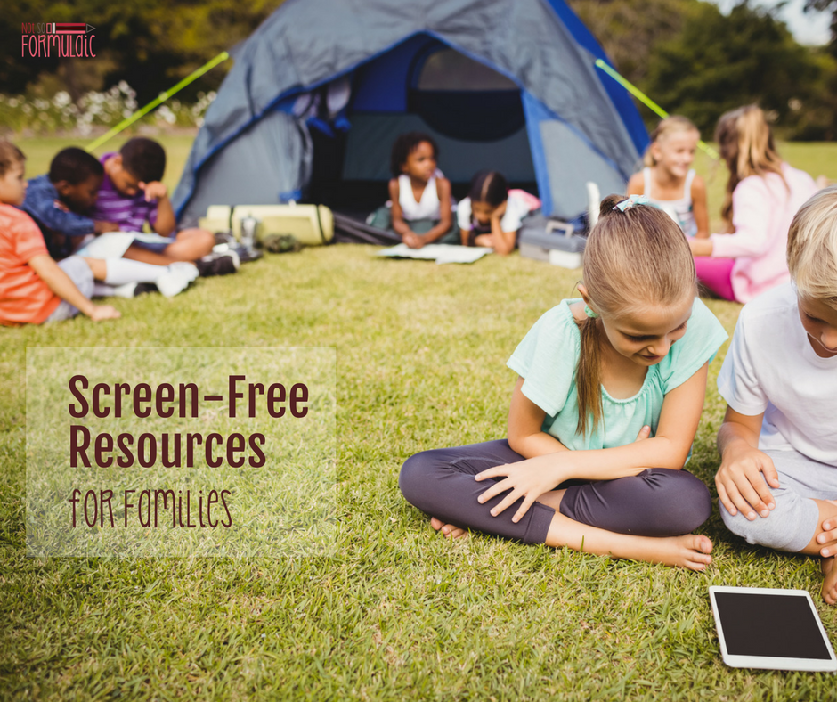 Screen-Free Resources for Families