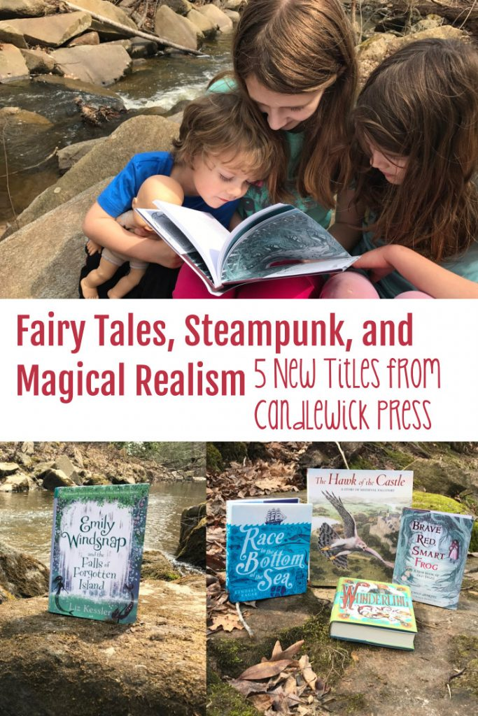 Fairy tales, steampunk, and magical realism are literary genres at the top of our list. We were in heaven when we found these five incredible titles from Candlewick Press - read on to check them out for yourself!