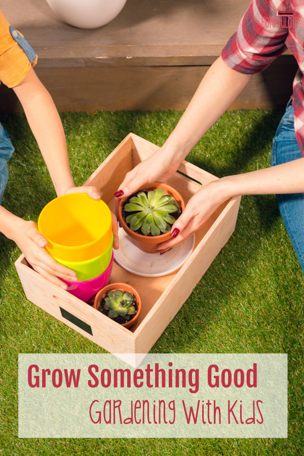 #gardening #gardeningwithkids Screen-free week 2018 gives us a chance to explore and try new things like gardening! We'll be growing something good this summer thanks to my friend Rosie and her introduction to gardening with kids.