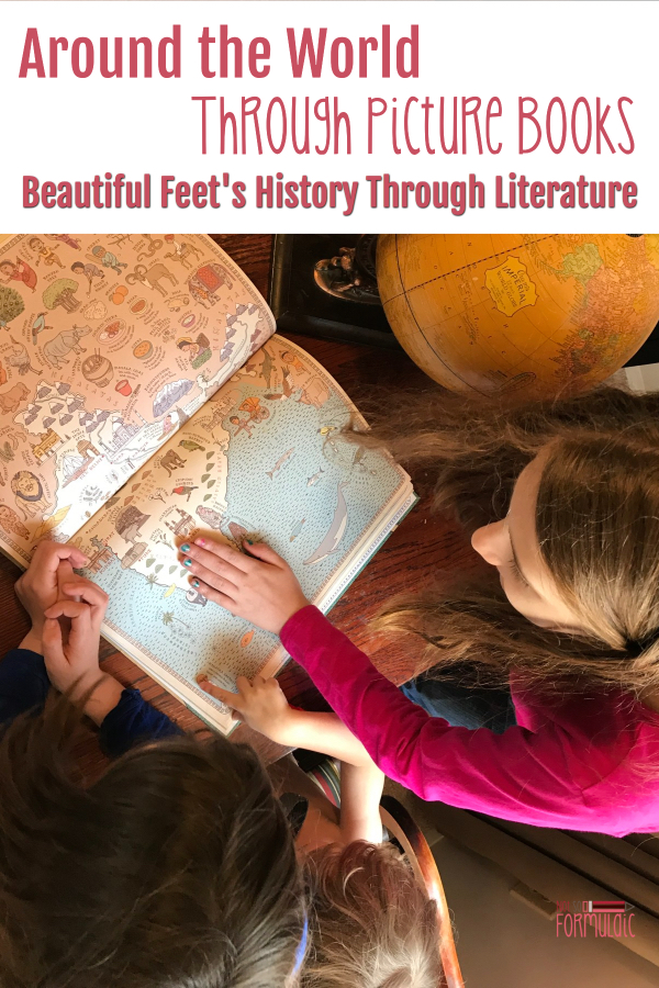 Do your kids love picture books? History? Geography? Well look no further, because Beautiful Feet Books has you covered. Around the World with Picture Books is the perfect way to explore history and geography through quality literature.