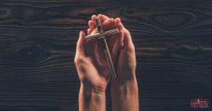 Catholic Motherhood is humbling. The truth about picking up your cross.