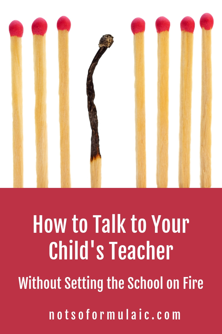 If you're parenting a gifted kid, you know how hard it can be to speak objectively with your child's teacher, coach, or mentor. Here's some advice from the mom of three gifted/2e kiddos who's been on both sides of a teacher's desk.#giftedparenting #2eparenting #parentteacherconference #giftedkids