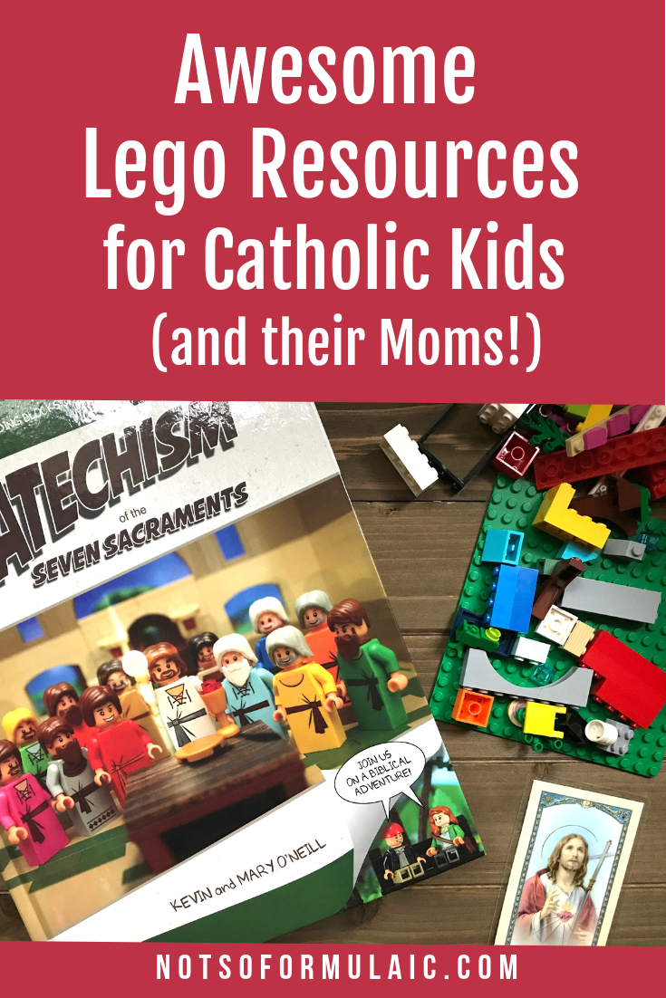 Do your kids love Lego? Would you like to give them a firm foundation in the Catholic faith? Check out these 6 awesome Lego resources for Catholic kids and families. You'll be Master Builders of bricks and the Church in no time at all.