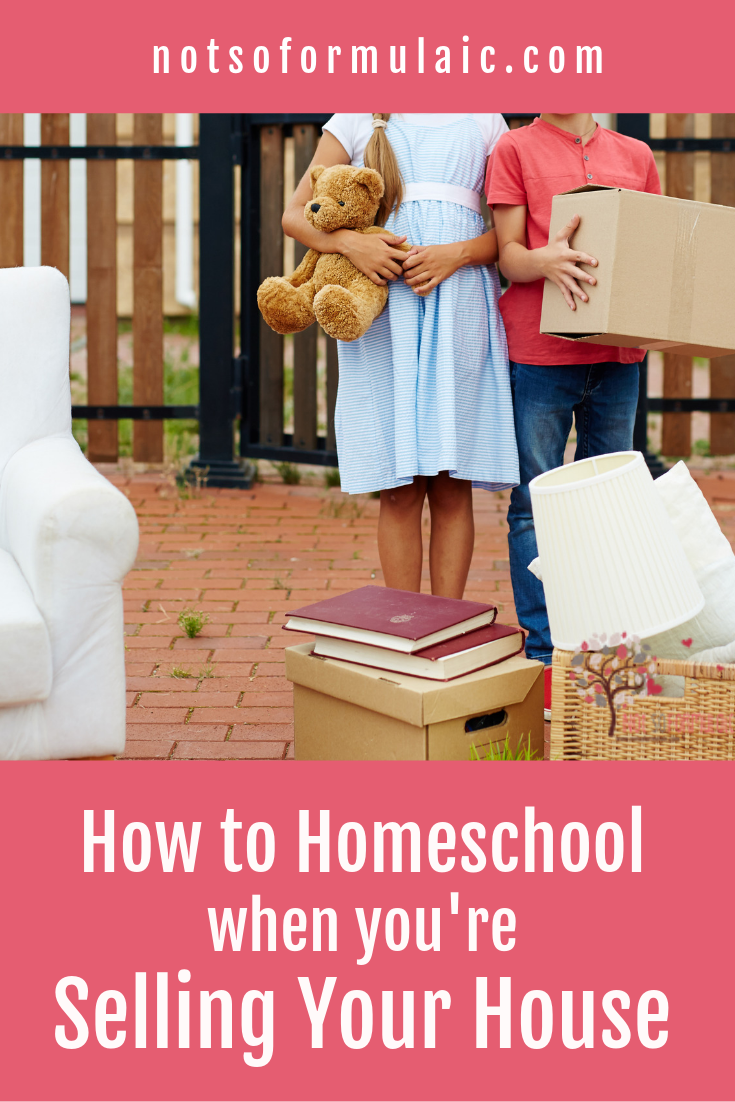 Thinking about putting your house on the market, but worried because your house is more than a home? If you're a homeschool family getting ready to start a new housing adventure, don't worry - it absolutely can be done.