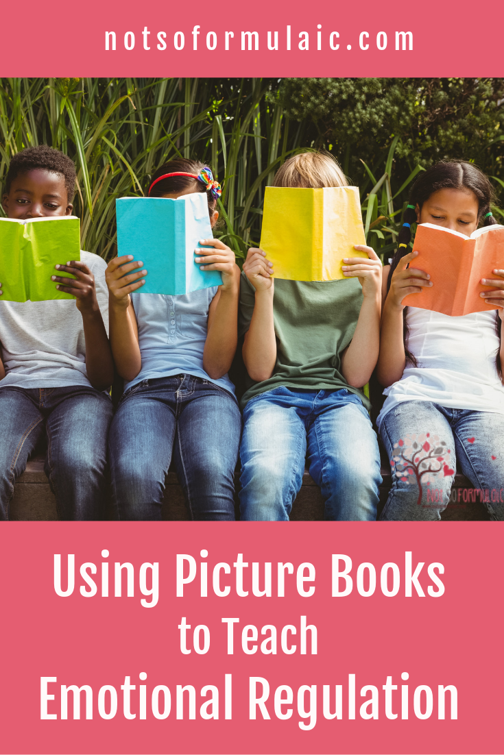 When you have an anxious, impulsive, or explosive child, helping her cope can be difficult. Here's how to use picture books to teach emotional regulation skills.