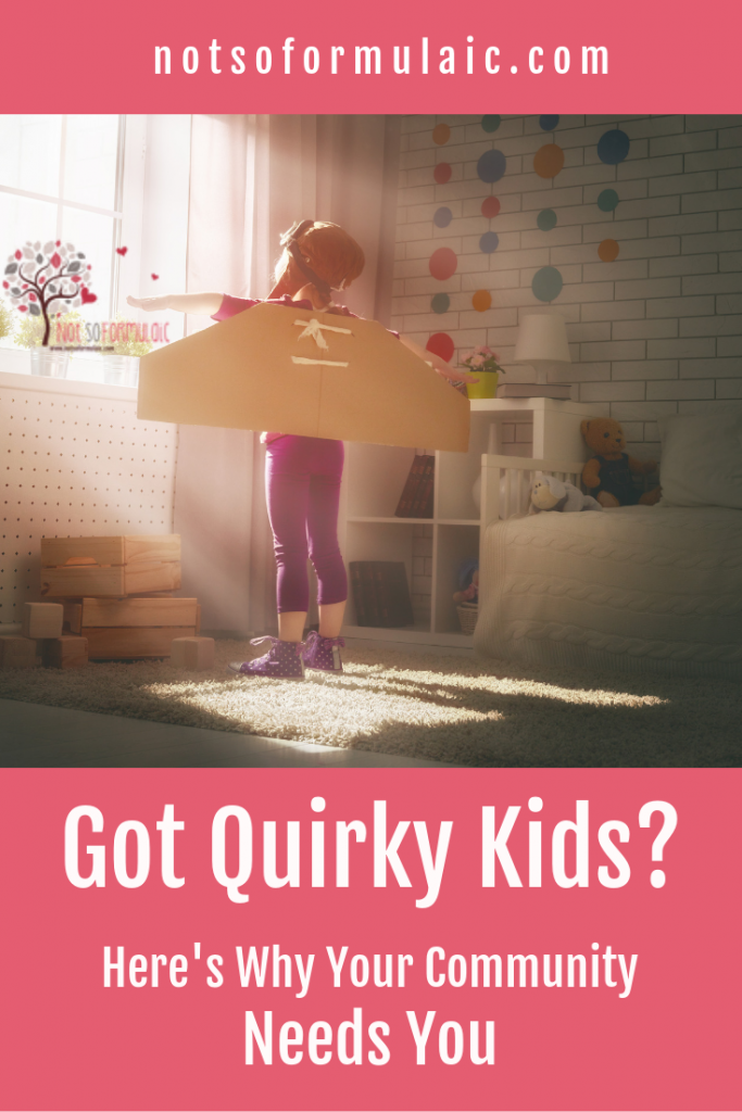 Raising quirky kids can be isolating and lonely - for parents and for kids. But with every reason not to go to that party, event, or gathering, there's a better reason your community needs your presence. Faithful, Not Succesful's Christy Wilkens reveals how to balance the needs of your children with the value your family brings to the world.