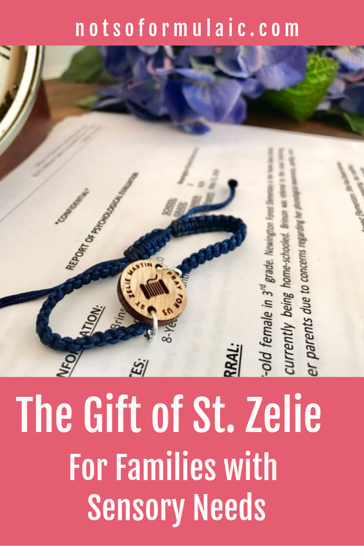 The struggle to balance your children's sensory needs with your own can feel overwhelming. How do you handle your kids' the sensory preferences and overload of your children when you're barely coping yourself? Take a cue from St. Zelie, a sensory mom's gift from God.